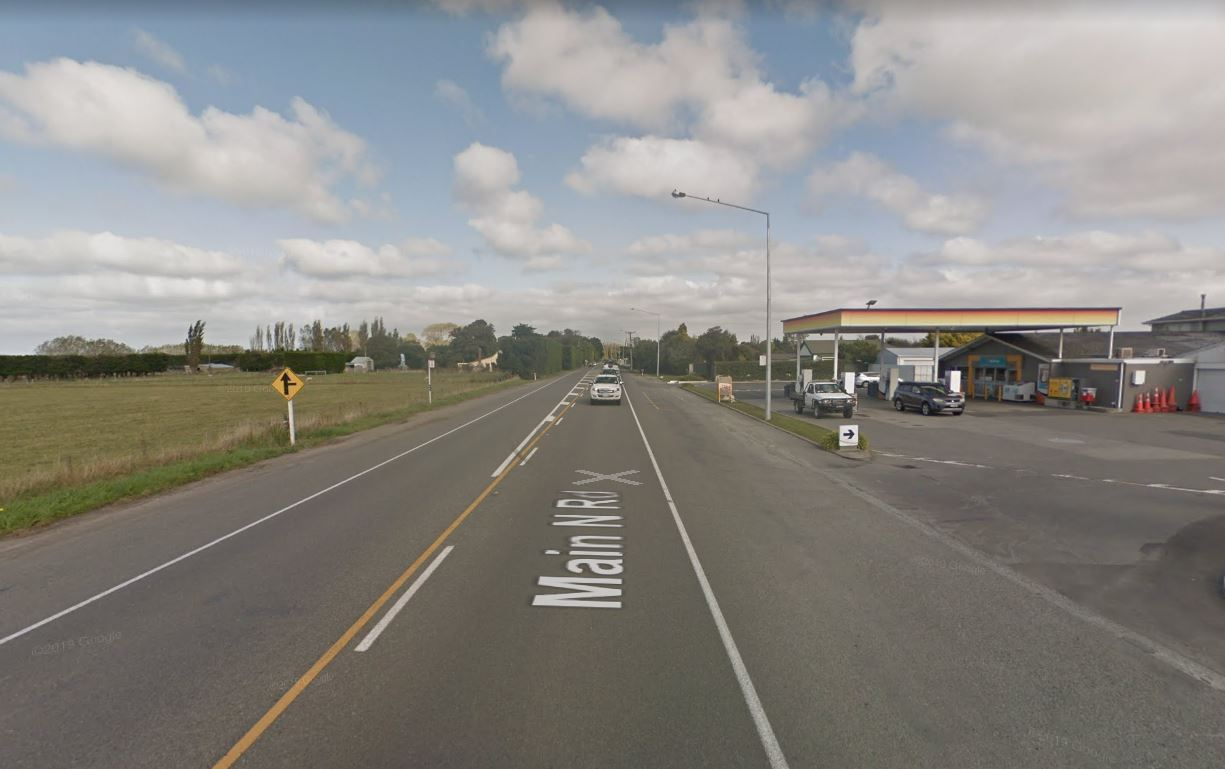 Five people injured in crash involving campervan