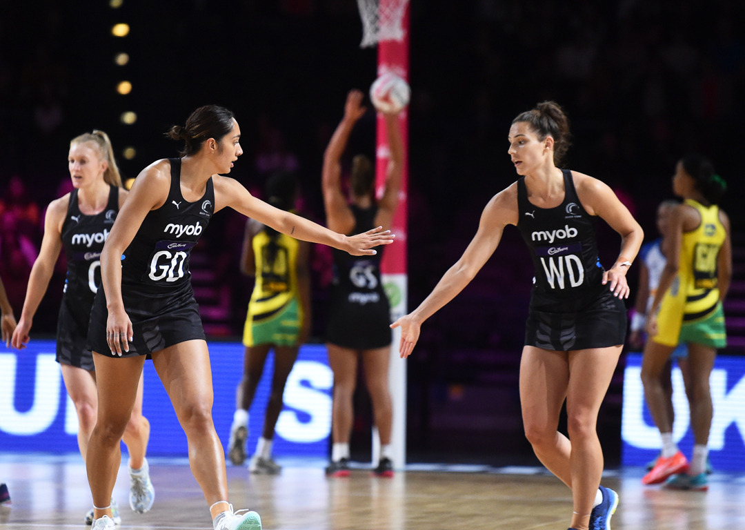 Emphatic win: Silver Ferns make statement with huge victory