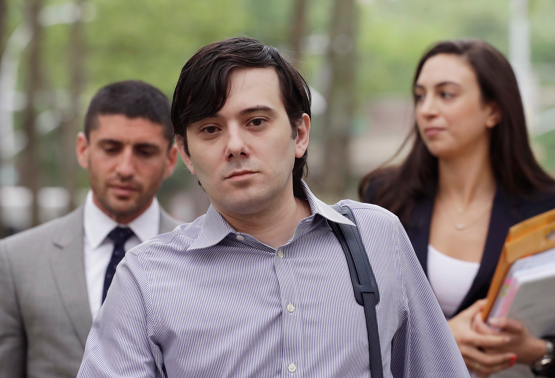 Solitary confinement for 'Pharma Bro' over claims he ran his firm from jail