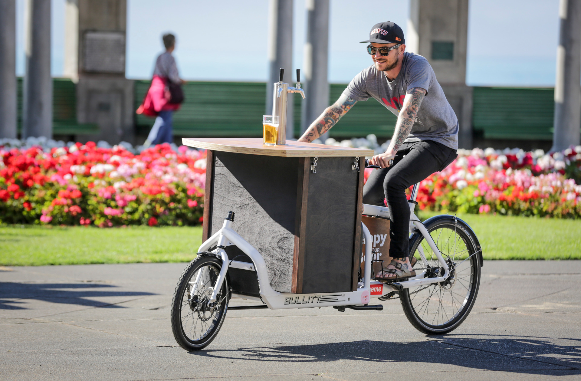 Happy hour beer bike rides into Napier's CBD to save everyone's after work drinks