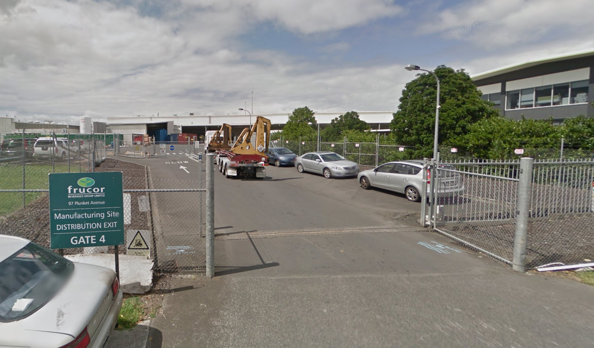 Person receives serious electrical burns in small fire at Frucor in Manukau