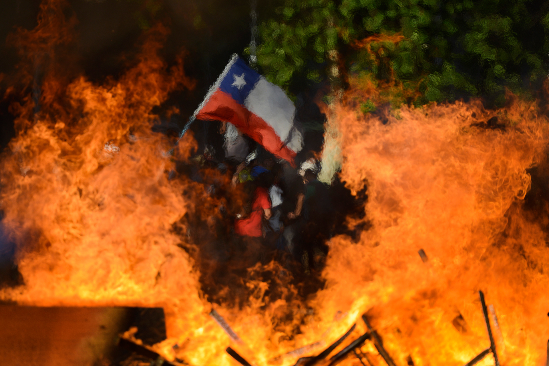 Chile erupts: a first-hand account from Santiago