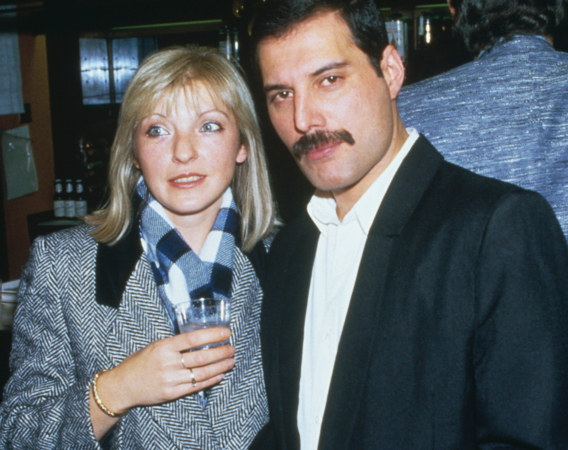 Image result for photos of freddie mercury's girlfriend Mary