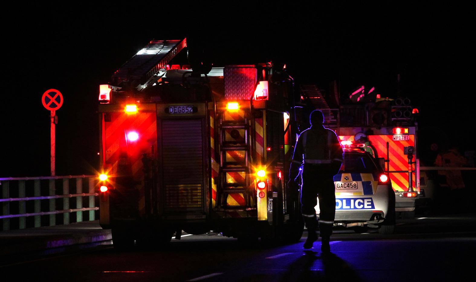 Police come across house on fire in Rotorua's Miller Street