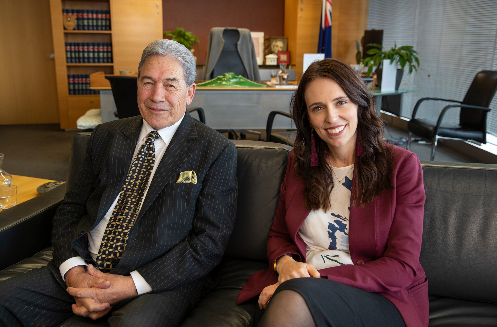Deputy PM Winston Peters 'chipper' after surgery and 'gagging' to get back to Wellington