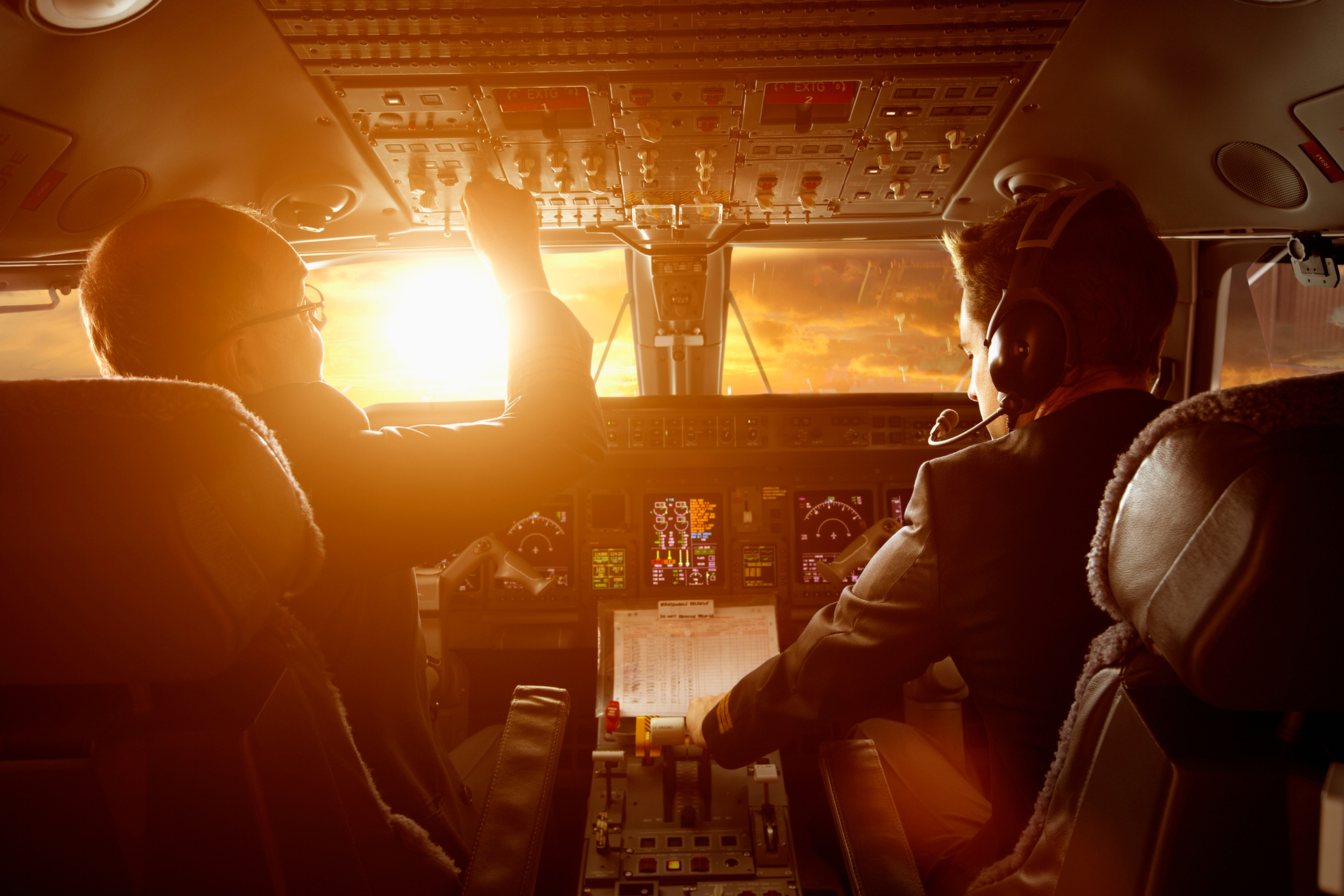 Flight deck secrets: Pilot reveals secret codes used between crew